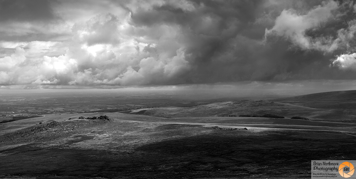 Storm Over West Mill Tor