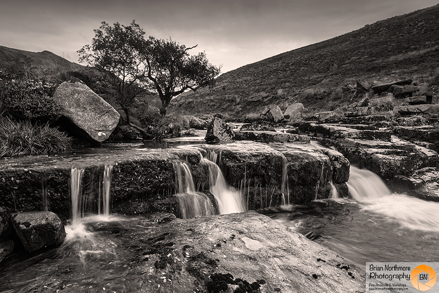 Waterfall at Tavy Cleave