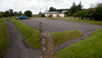 The Car Park at Princetown Visitor Centre