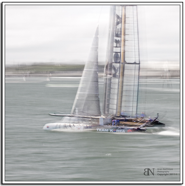 Americas Cup, Korean Entry, Plymouth England